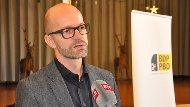Marco Tscholl candidat per il Cussegl da la citad da Cuira