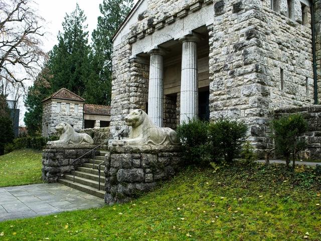 Das Krematorium in Aarau.