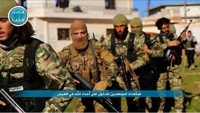 Kämpfer von Fatah al-Scham in der Provinz Aleppo.