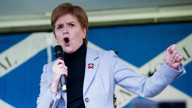 Demonstrationen in Schottland