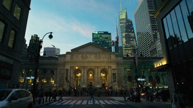 Gebäude New York Public Library