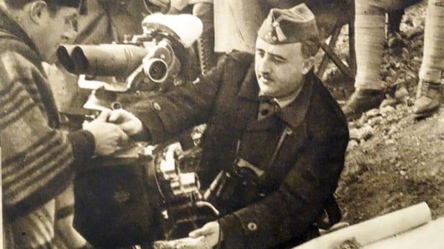 Der spanische Diktator Francisco Franco.