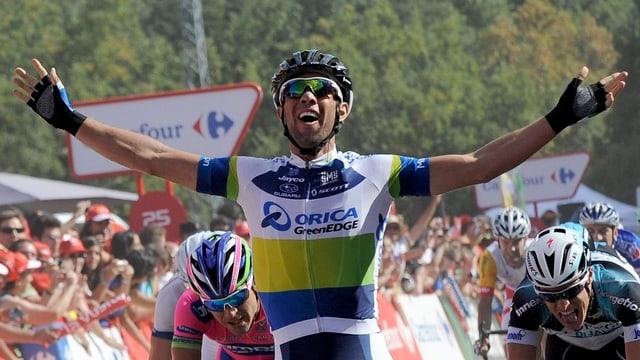 Michael Matthews war auf der 5. Vuelta-Etappe der Schnellste.