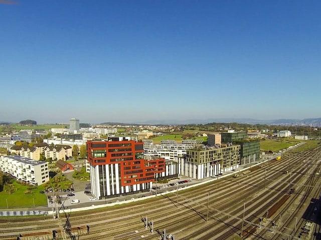 In Rotkreuz steht das neue Departement Informatik der Hochschule Luzern. Das Ziel sind 1'000 Schüler.