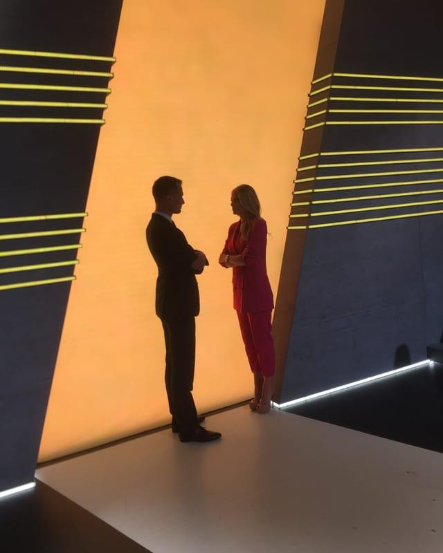 Christa Rigozzi und Jonas Projer – das neue Moderationsteam von SRF.