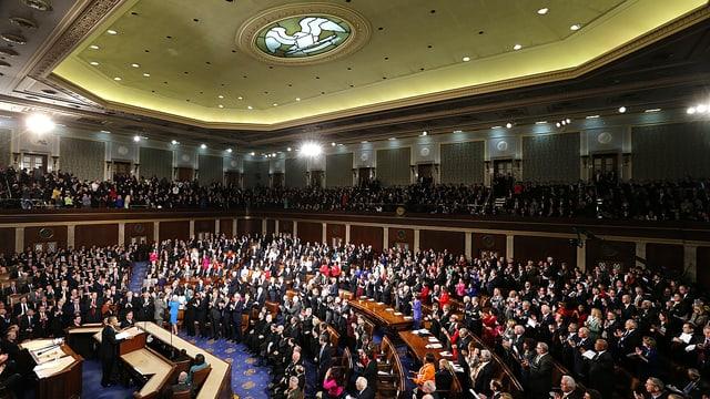 Der US-Kongress im Washingtoner Kapitol