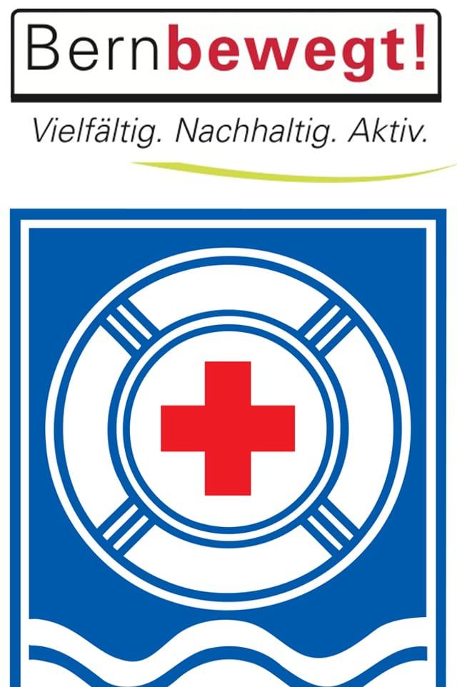 Logo SRLG und Bern bewegt