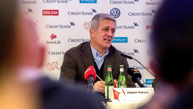 Il trenader da l'equipa naziunala svizra Vladimir Petkovic.