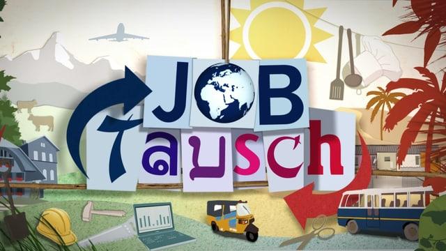 Logo von der Sendung Jobtausch