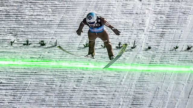 L'atlet dal siglir cun skis Kamil Stoch