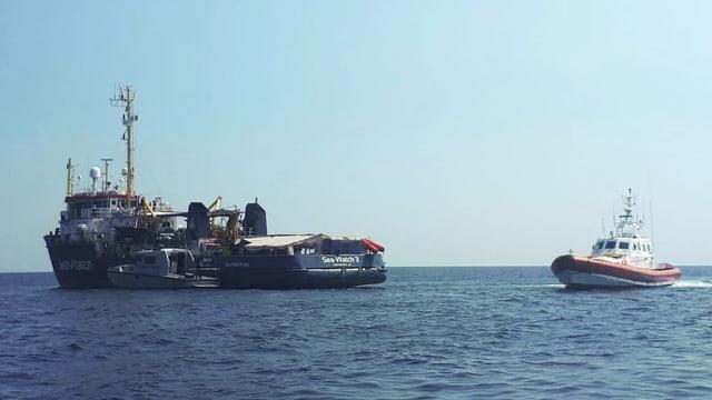 «Alan Kurdi», «Alex» und «Sea-Watch 3»