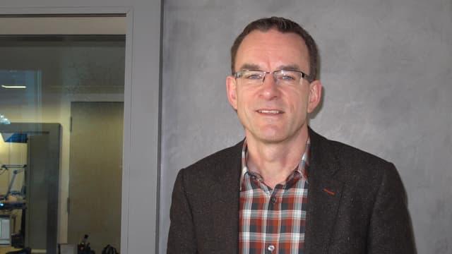 Norbert Bucheli, Geschäftsführer der Stewo International AG in Wohlhusen.