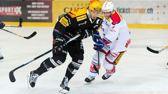 Julien Sprunger und René Back.