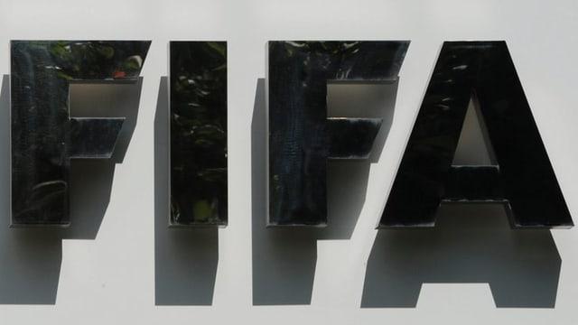 Fifa-Schriftzug.