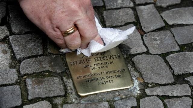 Stolperstein in Berlin