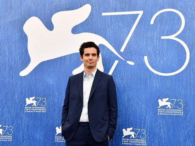Damien Chazelle am 73. Filmfestival Venedig.