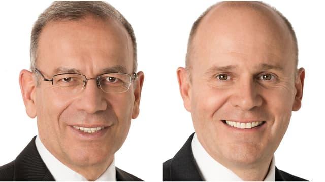 Hannes Germann (l.) und Thomas Hurter.