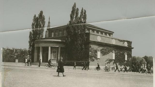 Kunsthalle, historische Aufnahme.