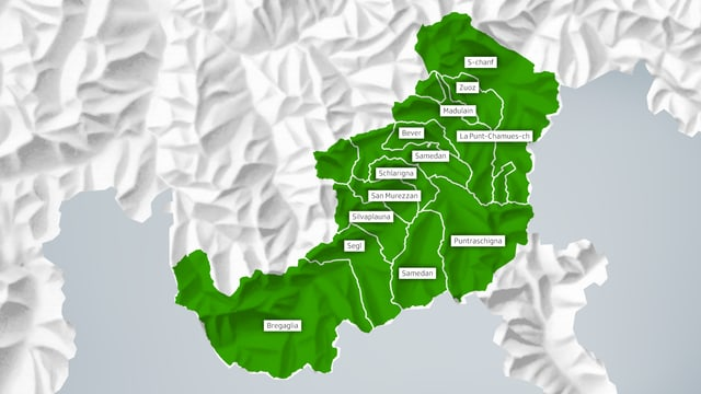 Carta Engiadina - tut ils 12 lieus han ditg gea