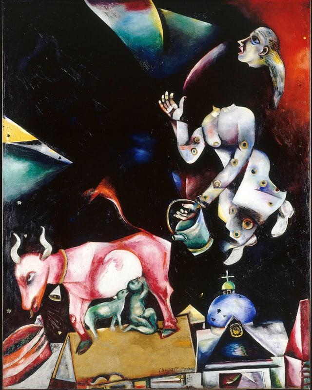 «Russland, den Eseln und den anderen» (1911).