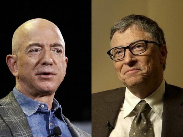Die beiden Männer im Porträt.