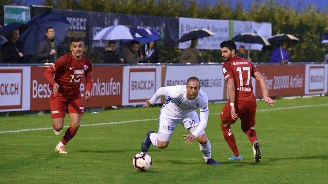 Fussballspiel des FC Rapperswil-Jona