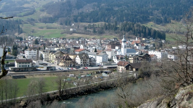 Das Dorf Ilanz