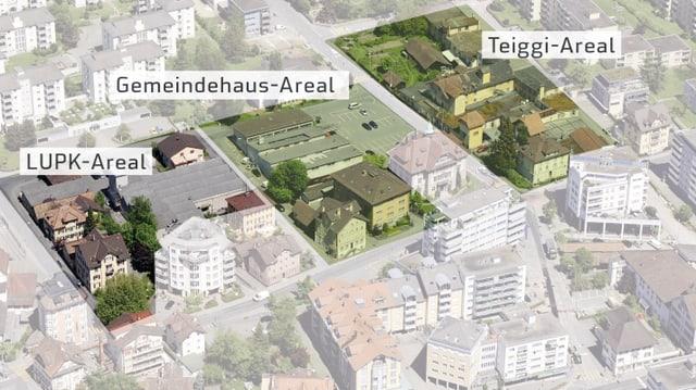 Karte vom Krienser Zentrum
