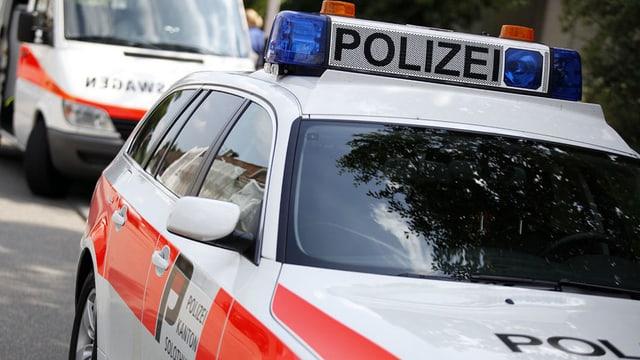 Autos der Kantonspolizei Solothurn