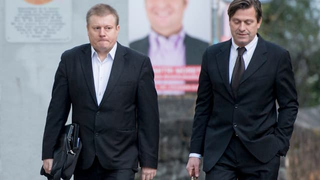 Ignaz Walker und sein Anwalt Linus Jaeggi