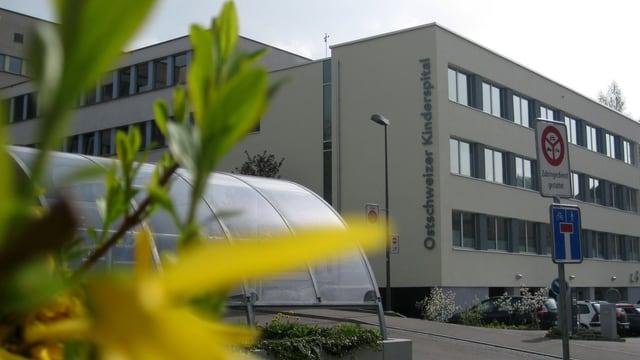 Ostschweizer Kinderspital in St.Gallen, Aussenansicht
