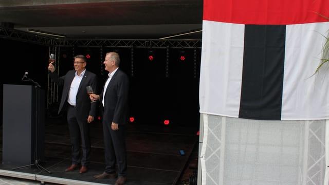 Markus Schneider und Stephan Attiger