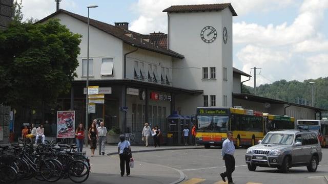 Bahnhofsareal Liestal
