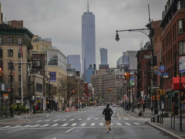 Alltagsszene in New York