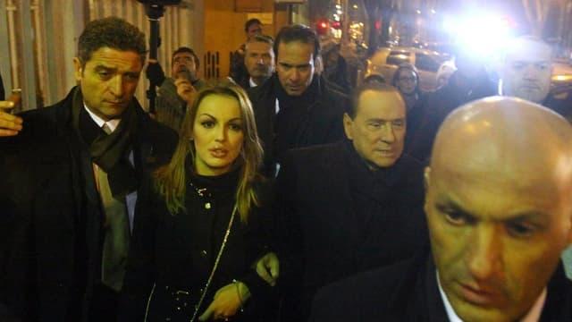 Francesca Pascale mit Berlusconi.