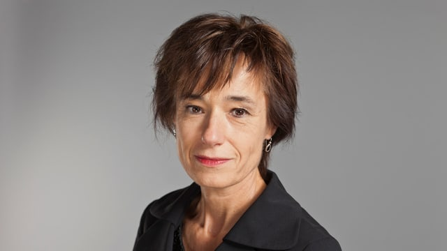 Portrait der CVP-Nationalrätin Ruth Humbel.