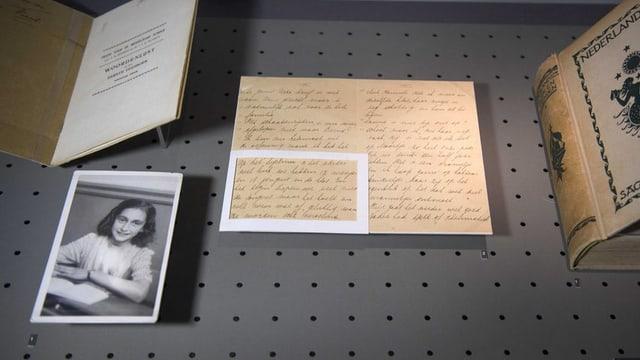 Das Tagebuch der Anne Frank wird zum ersten Mal als Musikwerk in der Schweiz gezeigt.