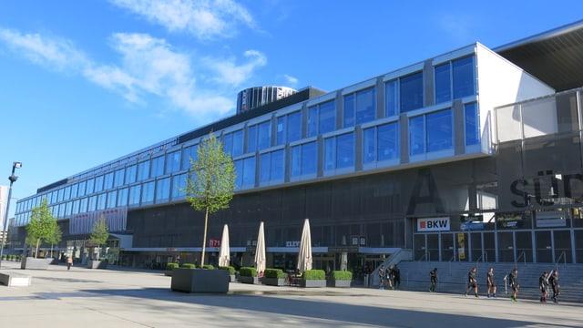 Das Stade de Suisse.