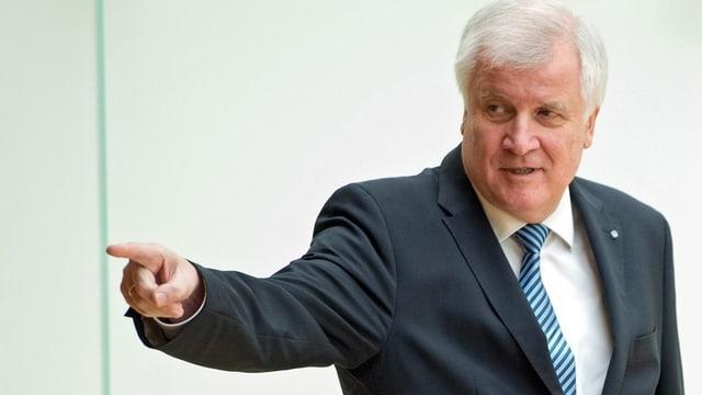 Horst Seehofer, il schef da la «Christlich-Soziale Union» CSU.
