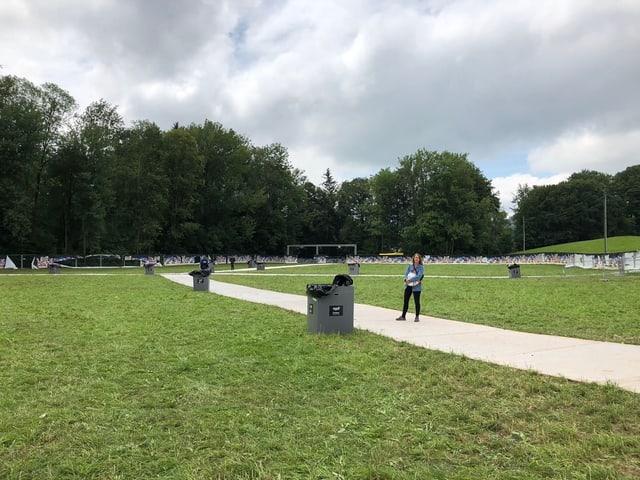 Wartegelände Openair St. Gallen