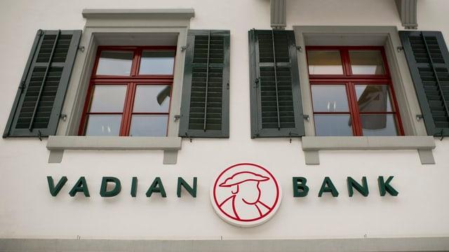 Logo da la banca Vadian.