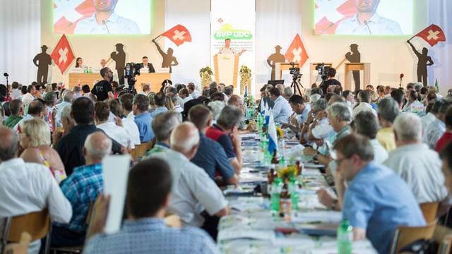 radunanza da delegads da la partida populara svizra