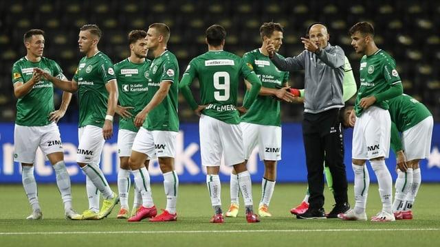 St. Gallen empfängt AEK Athen