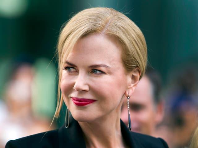 Nicole Kidman an einer Filmpremiere.