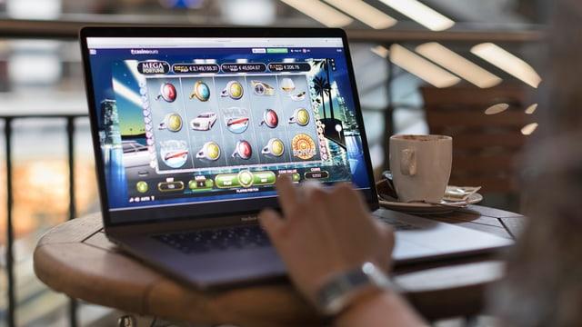 Visur d'in laptop.