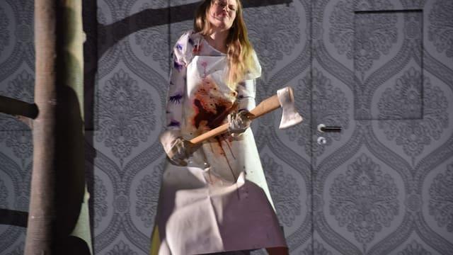 Mari Eriksmoen als Pamina in einer Aufführung der «Zauberflöte» am Zürcher Opernhaus
