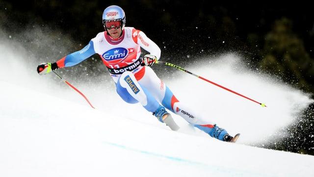 Vorjahresssieger Didier Döfago verlor knapp 2 Sekunden auf die Bestzeit.