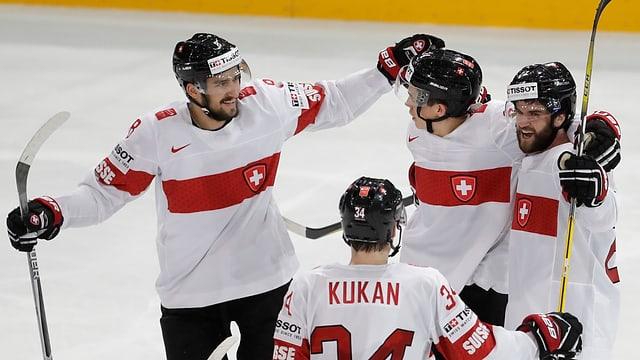 giugaders da hockey sa legran da la victoria