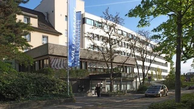 Gebäude des Basler Claraspitals.