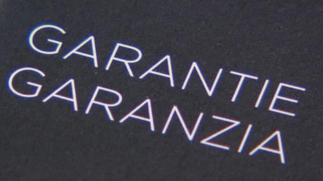 Garantie / Gewährleistung: Das müssen sie wissen